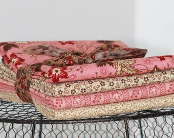 Harriet's Handwork by Betsy Chutchian for Moda ~ 4 Half Yard Bundle B