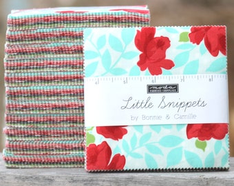 """Little Snippets by Bonnie and Camille for Moda Charm Pack 5"""" Squares"""