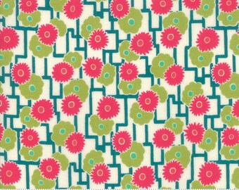 Looking Forward by Jen Kingwell for Moda 18144 12 Pesto ~ 5 Yard Backing Fabric~