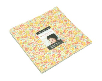 """Strawberry Jam by Corey Yoder for Moda Layer Cake 10"""" Squares"""