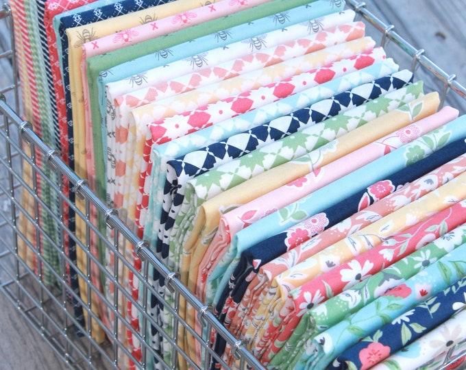 Garden Variety by Lella Boutique for Moda ~ 31 Fat Quarter Bundle