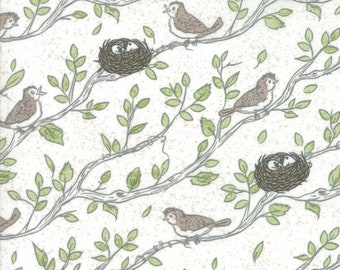 Nest by Lella Boutique for Moda 5061 11 Eggshell ~ End of Bolt ~ 25 Inches