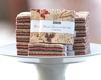 "Harriet's Handwork by Betsy Chutchian for Moda Mini Charm Pack 2.5"" Squares"