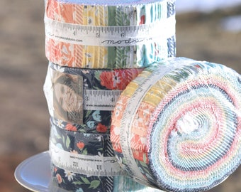 "Garden Variety by Lella Boutique for Moda Jelly Roll  2.5"" strips"