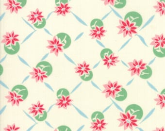 Cheeky by Urban Chiks for Moda 31144 22 Petal Sweet Cream ~ By the Half Yard ~