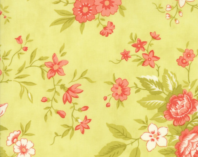 Ella and Ollie by Fig Tree for Moda 20300-18 Apple ~ End of Bolt Yardage ~ 16 Inches