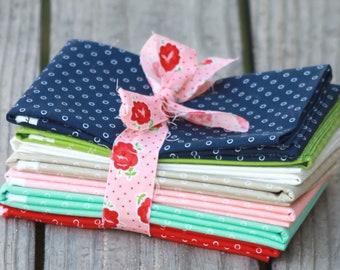 Smitten by Bonnie & Camille for Moda Darling Dots  7 Half Yard Bundle