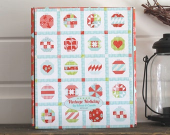"""Vintage Holiday Quilt Kit ~ Vintage Holiday by Bonnie & Camille for Moda 58"""" x 72"""""""