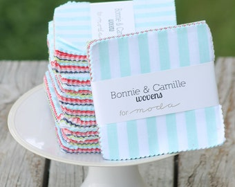"""Wovens by Bonnie and Camille for Moda Charm Pack 5"""" Squares"""