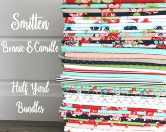 Smitten by Bonnie & Camille for Moda 40 Half Yard Bundle