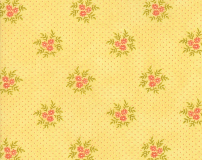 Ella and Ollie by Fig Tree for Moda 20307-18 Daisy ~ End of Bolt Yardage ~ 32 Inches