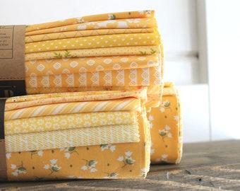 Color Cuts by Moda ~ Lemon Drops ~ Fat Quarter Bundle