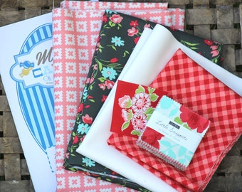 """Moda Candy Mini Charm Kit ~ Little Snippets by Bonnie & Camille ~ 25.5"""" x 26"""""""