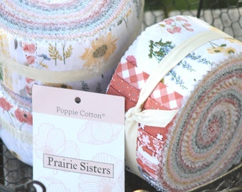 "Prairie Sisters by Poppie Cotton ~ 2.5"" strips"