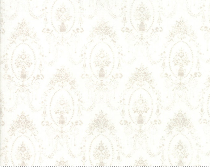 Amberley by Brenda Riddle for Moda 18672 11 Linen White~ By the Half Yard ~