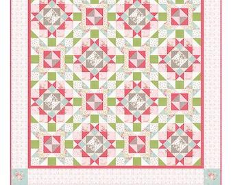 "Cottage Splendor by The Quilt Factory Quilt Pattern ~ 74"" x 89"" ~"