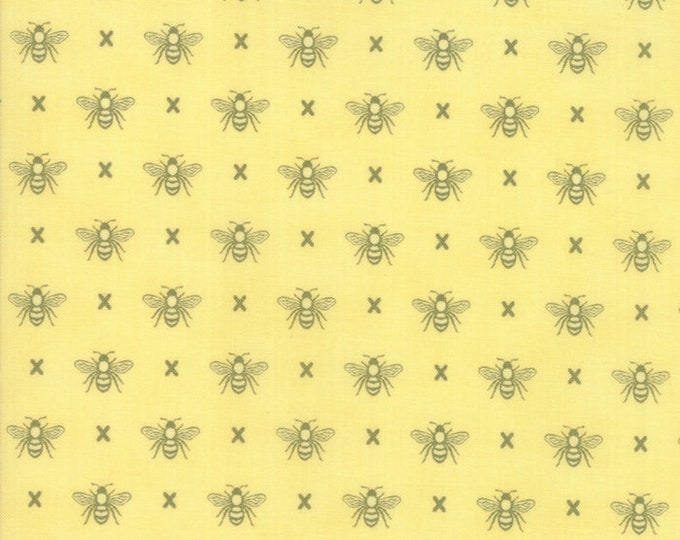 Garden Variety by Lella Boutique for Moda 5073 17 Sunshine ~By the half yard~