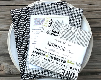 """Twirl Quilt Kit ~ Authentic Etc by Sweetwater ~ Backing Included ~ 16"""" x 40"""""""