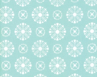 Vintage Holiday by Bonnie & Camille for Moda 55166 12 Aqua ~End of Bolt~ 18 Inches