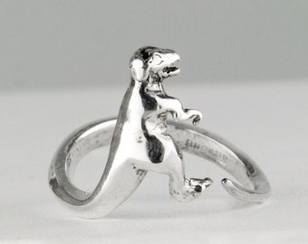 T-Rex Sterling Silver Ring