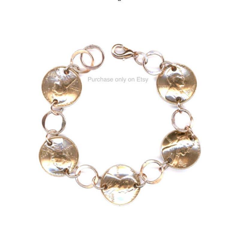 1959 Penny Bracelet Jewelry 60th Birthday Gift For Women