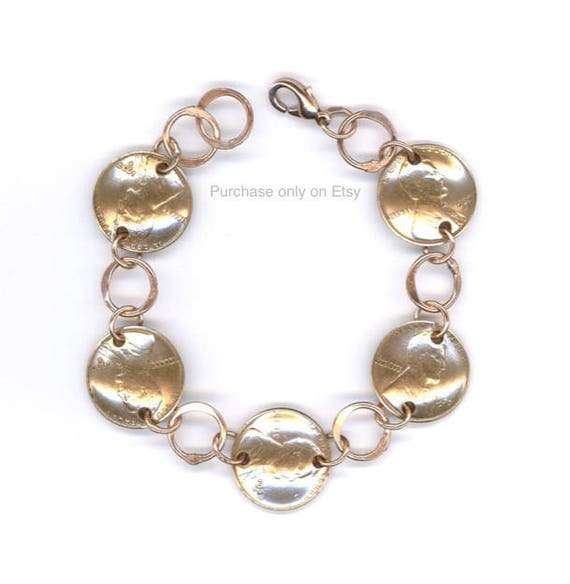 80th Birthday Gift 1938 Penny Bracelet Coin Jewelry