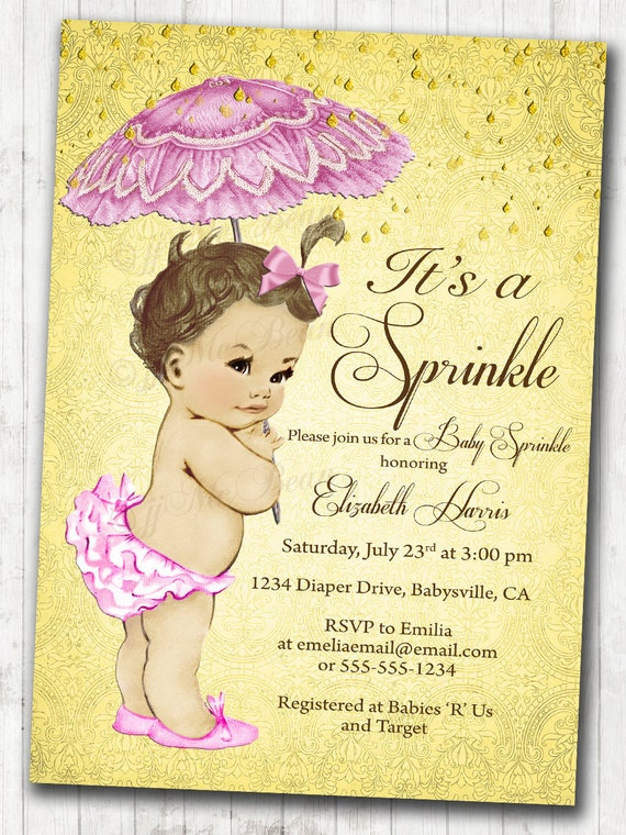 Sprinkle baby sprinkle shower invitation sprinkle vintage baby etsy image 0 filmwisefo