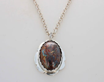 Koroit Opal Necklace