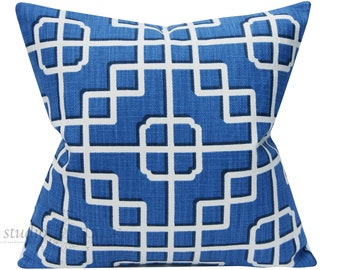 OVERNIGHT SHIPPING - for Fretwork Pattern  Pillow Covers - 20X20 ready to ship