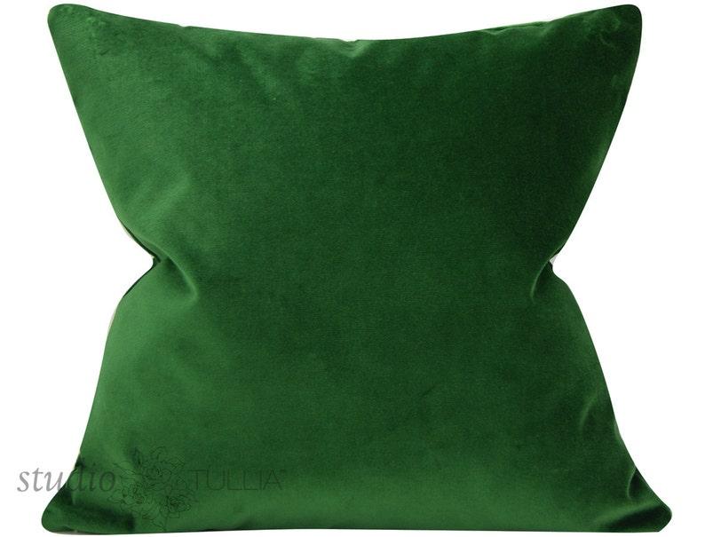 Decorative Pillow Cover green velvet Quick Ship,Emerald Velvet Pillow Cover ready to ship designer velvet emerald