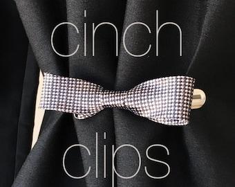 Bow Tie Cinch Clip