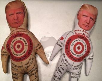 "Voodoodoll /""Trump/"" President Dumb Doll I make Amerika great again Fakenews"