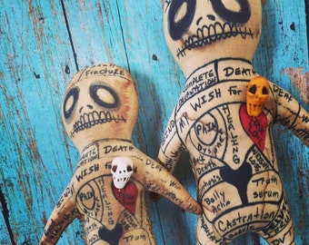 Voodoo Doll Hoodoo Intention Poppet Papa Legba