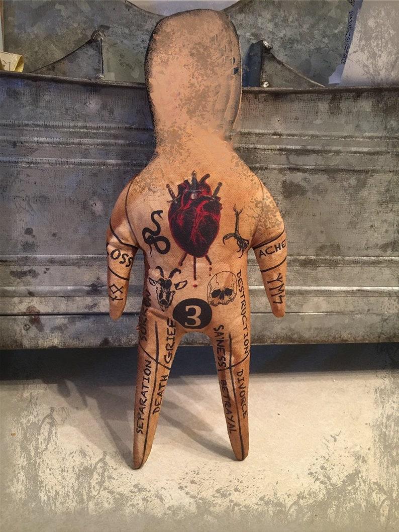 Revenge Voodoo Doll Customized OOAK Handmade Magic Poppet image 0