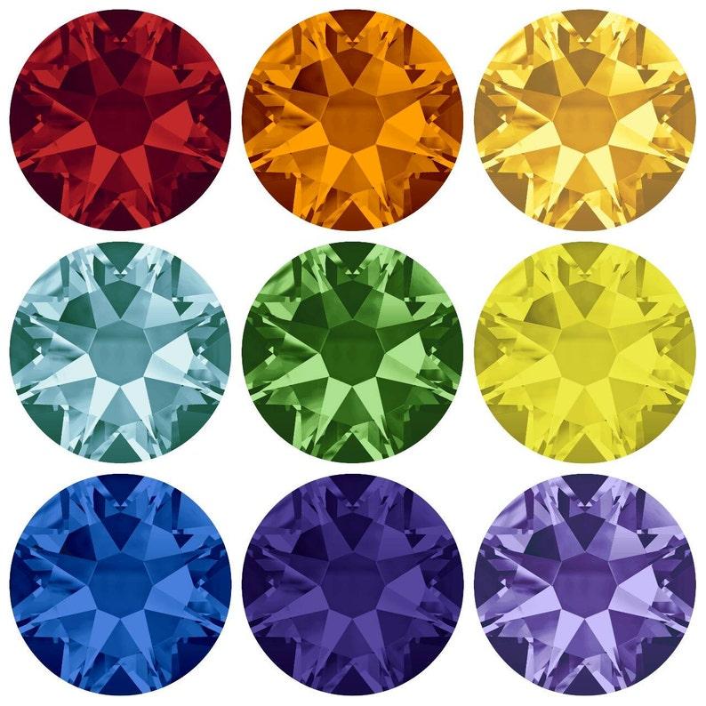 9179f905e Swarovski Crystal Flat Back No Hotfix ss20 1 gross 144   Etsy