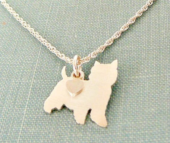 Breed Silhouette Charm Australian Shepherd Chain Bracelet Rescue Shelter Sterling Silver Personalize Pendant Mothers Day Gift