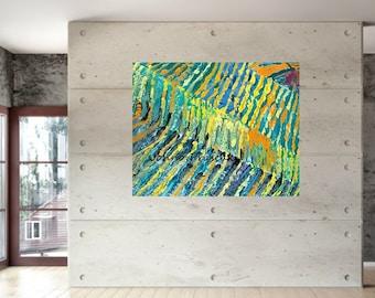 Modern landscape art, Vineyards, Vineyard art, Modern vineyard art, Impressionistic, Johno Prascak, Johnos Art Studio