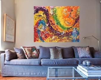 Bird art, Abstract wall art, Modern wall art, Metal prints, Pittsburgh Artist, Songbirds wall art, Johno Prascak