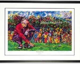 Golf wall art, Man cave wall art, golfing print, office wall art, Pittsburgh artist Johno Prascak, Johnos Art Studio