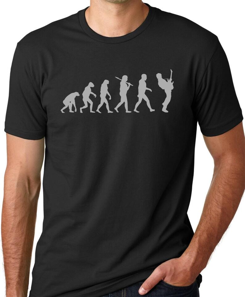 Guitar Player Evolution T shirt Musician t shirts guitarist  6dfa8df4144b