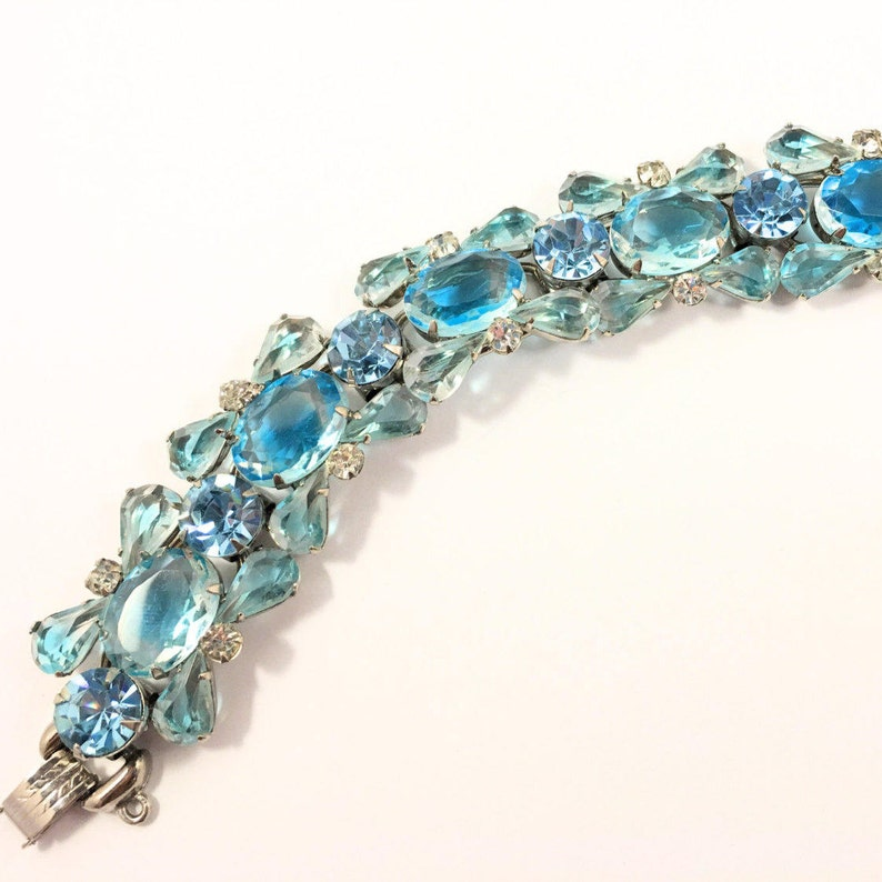 2ba1dac30ce Juliana Bracelet bijoux Vintage bijoux en strass Juliana