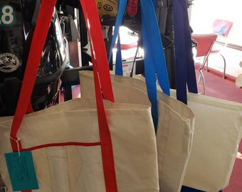 98c6655f4306 Market Bag made from recycled sail