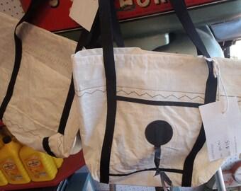 Mini Recycled Sail Tote Bag