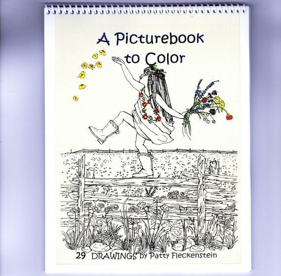 COLORING BOOK for Adults-Teens-Children-29 Pen Drawings-\