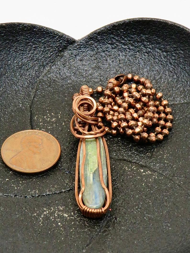 Natural Blue KYANITE Pendant+Kyanite Earring Kyanite Jewelry Set BEAUTIFUL Kyanite Gemstone GENUINE Kyanite Blue Stone Drop Necklace Set