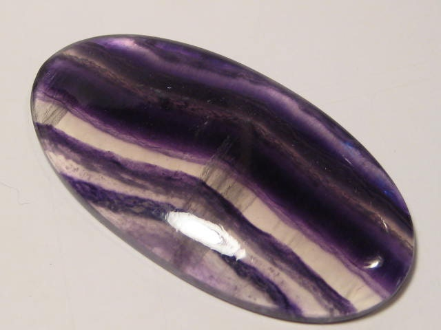 Purple bagués  cab Fluorite...  bagués    GROS morceau 65 x 33 x 7 mm d'épaisseur...             3871 46da7e