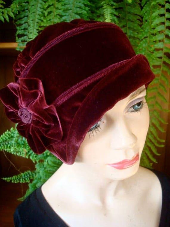 womens chemo hat womens hat womens velvet hat womens winter  f0a8568252
