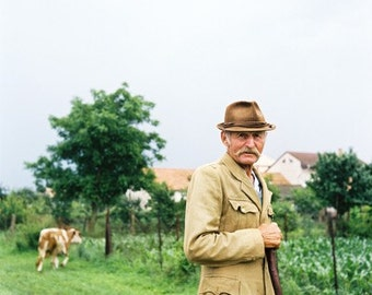 Splendidly Stoic- Fine Art Photography- Portrait- Slovakia