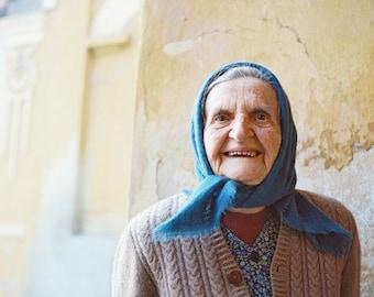 Sarika's Blue Eyes- FIne Art Photography- Portrait- Slovakia
