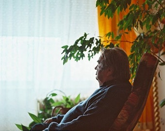 Watching TV- Fine Art Photography- Portrait- Slovakia